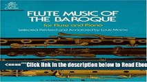 [PDF] Flute Music of the Baroque: For Flute and Piano (Woodwind Solo) Popular Collection