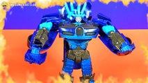 Drift, Predaking and Grimlock Transformers Toy Figures
