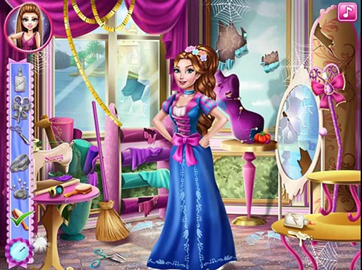 Барби Игры—Барби Дисней Принцесса на бал—Онлайн Видео Игры Для Детей Мультфильм new