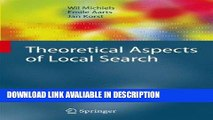 BEST PDF Theoretical Aspects of Local Search (Monographs in Theoretical Computer Science. An EATCS