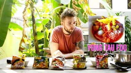 ฝรั่งรีวิวมาม่าไทย (Thai Super Noodles) ••EAT IT ALL EP.9 ••