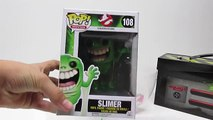 NEW GHOSTBUSTERS SLIMER!! Opening Play-Doh Surprise Egg! With Original Ghostbusters TOYS! POP SLIMER
