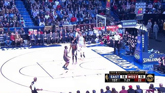 NBA All Star 2017   Gecenin en iyi 10 hareketi! LeBron'un T-Mac hareketi!