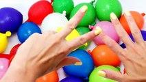 TOP Aprender los Colores en Húmedo Globos de Compilación de 15 Minutos Globo Dedo Rimas Coll