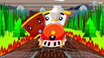 Cartoons with Trains. Adventure With the Train. Cartoons about Trains & Cars