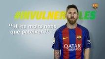 Messi se suma a l'equip  d'#Invulnerables
