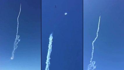 Un OVNI croise un avion durant un show aérien
