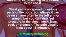 73. Our body alerts 1 month before having a heart attack, signs that we should all know
