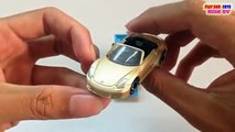 Tomica Toy Car Porsche Boxster & Hot Wheels Speed Dozer   Kids Cars Toys Videos HD Collection