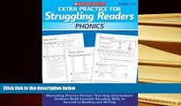 Read Online  Extra Practice for Struggling Readers: Phonics: Motivating Practice Packets That Help