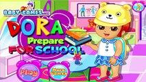 Dora la exploradora Juego Para Niños de Dora Prepararse Para la Escuela de Bebé, juegos para niños