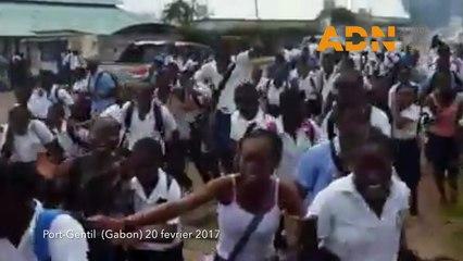 Gabon : Les élèves réclament la reprise des cours, la police riposte