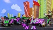 Teenage Mutant Ninja Turtles Twist-N-Mutate Raph Tigerclaw Steals Hot Rod Robot Mikey and Leo Attack-RTODCdTIq