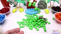 Learning Colors for Children with M&M Candy and The Good Dinosaurs-oKVoWE