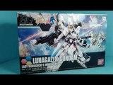 Unboxing: 1/144 HGBF Lunagazer Gundam