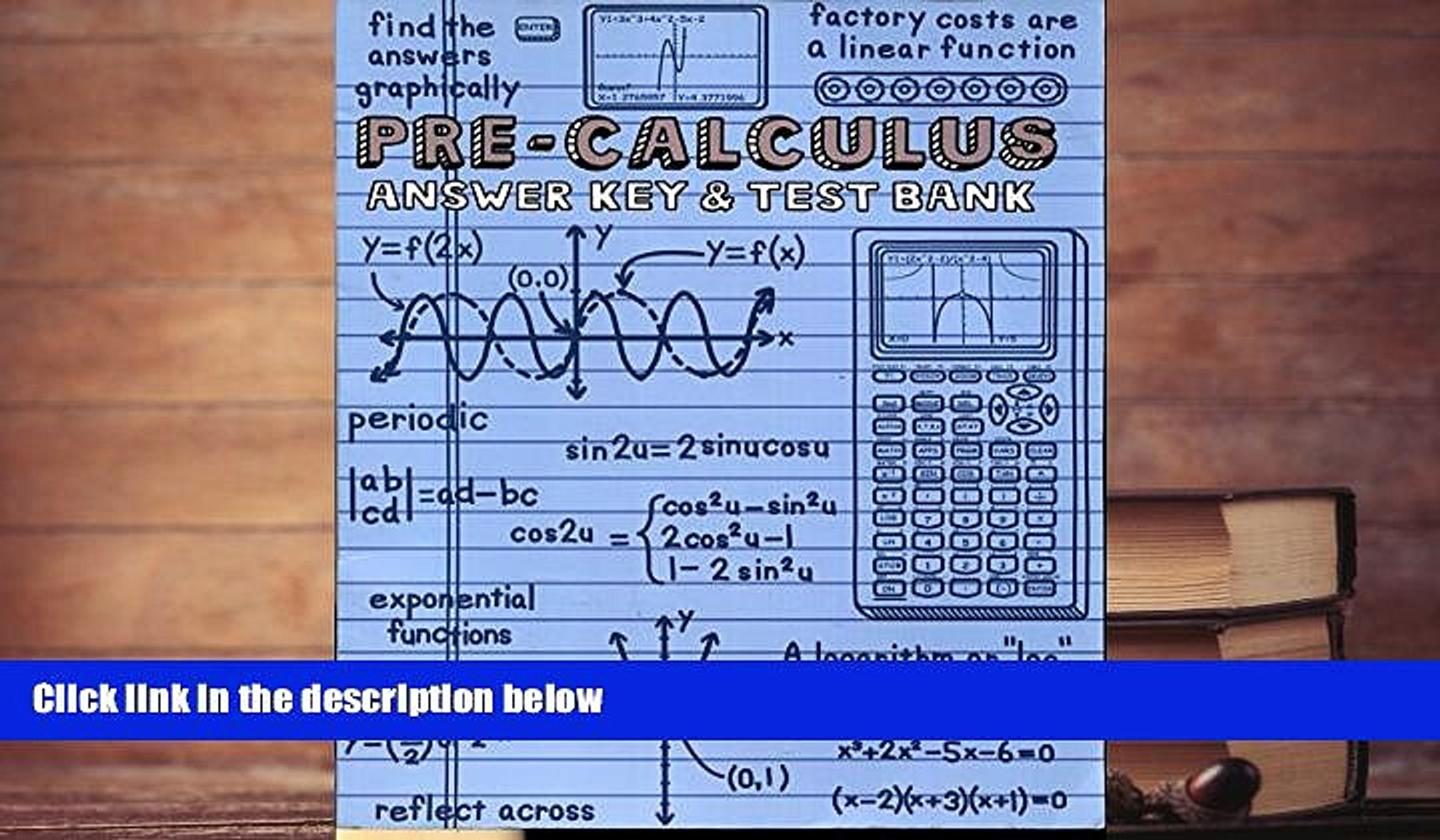Download [PDF] A Teaching Text Books PRE Calculus Text Books And The Answer  Keys  Greg Sabouri
