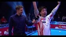 Quand un joueur de Billard japonais répond à une interview en anglais... Naoyuki Oi