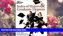 DOWNLOAD [PDF] The College Board Index of Majors   Graduate Degrees 2003: All-New Twenty-fifth
