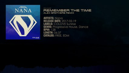 Nana - Remember The Time (Alex Brothers Remix)
