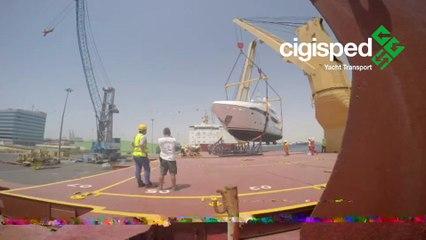 CIGISPED YACHT TRANSPORT 2016 - BBC Carolina May