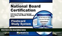 Popular Book  Flashcard Study System for the National Board Certification Literacy: Reading -