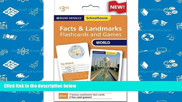 Popular Book  Rand Mcnally Schoolhouse World Facts   Landmarks Flashcards And Games  For Online