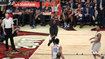 Russell Westbrook & Kevin Durant's Awkwardly AMAZING Alley-Oop from 2017 NBA All-Star Game