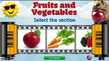 Lets Learn Fruits Vegetables Berries - Preschool Learning - Fruits Education video for kids