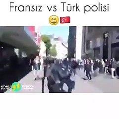 Fransız Polisi ve Türk Polisi
