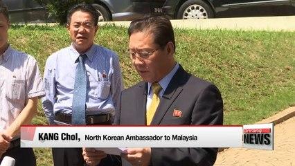 Malaysia recalls its N. Korea ambassador, summons N. Korea's ambassador