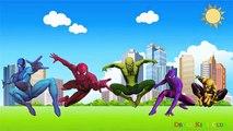 Человек-паук семья палец | палец для семейного Человека-Паука песня | детские стишки | популярные Детские песни