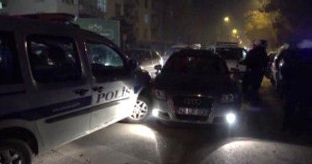 Konya - 'Dur' Ihtarına Uymayan Şüpheliler Polis Aracına Çarpınca Yakalandı