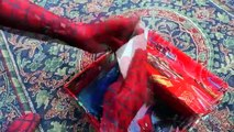 Hulk & Spiderman Becomes SpiderHulk?! w/ Hulk-Spider, Joker, Lady Hulk, Frozen Elsa & Cand