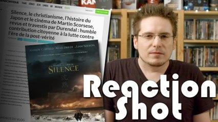Reaction Shot #3 - Silence  Réponse à l'article SensCritique
