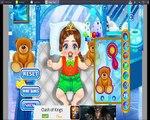Frozen Cuidado del Bebé de Anna Y Elsa de los Bebés Congelados Momentos Divertidos de la princesa de los Juegos de 2016 1