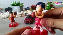 Welly Nex Toy Car Sport Range Rover Evoque SLAM DUNK Sakuragi Rukawa Kids Fun Toys Videos