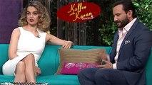Kangana Ranaut  Saif Ali Khan  Koffee With Karan Season 5 Episode 16  BEST MOMENTS