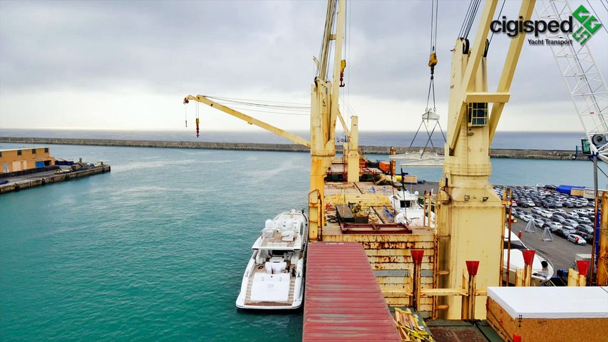 CIGISPED YACHT TRANSPORT 2014 - TIME LAPSE Superyacht Transport 2016