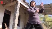 Cette grand-mère de 94 ans pratique le kung-fu tous les jours