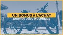 Une prime à l'achat pour les vélos électriques