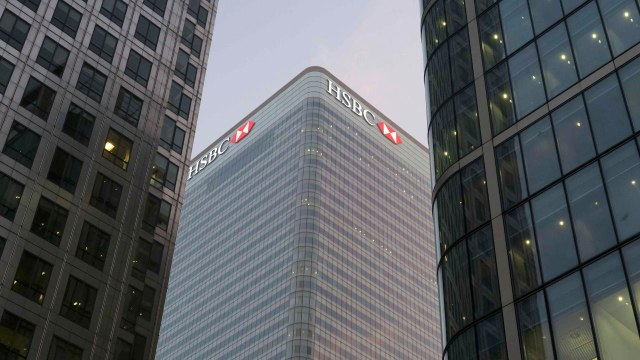 HSBC profits drop, McMaster appointed
