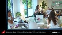 """Les Anges 9 : Mélanie """"excitée"""" par Fabrice Sopoglian, elle se jette sur lui ! (Vidéo)"""