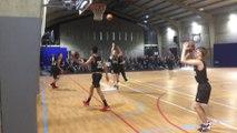 Séance d'entrainement au basket-études de l'Ipes de Hesbaye