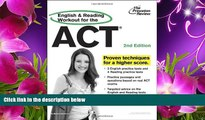 DOWNLOAD EBOOK English and Reading Workout for the ACT, 2nd Edition (College Test Preparation)