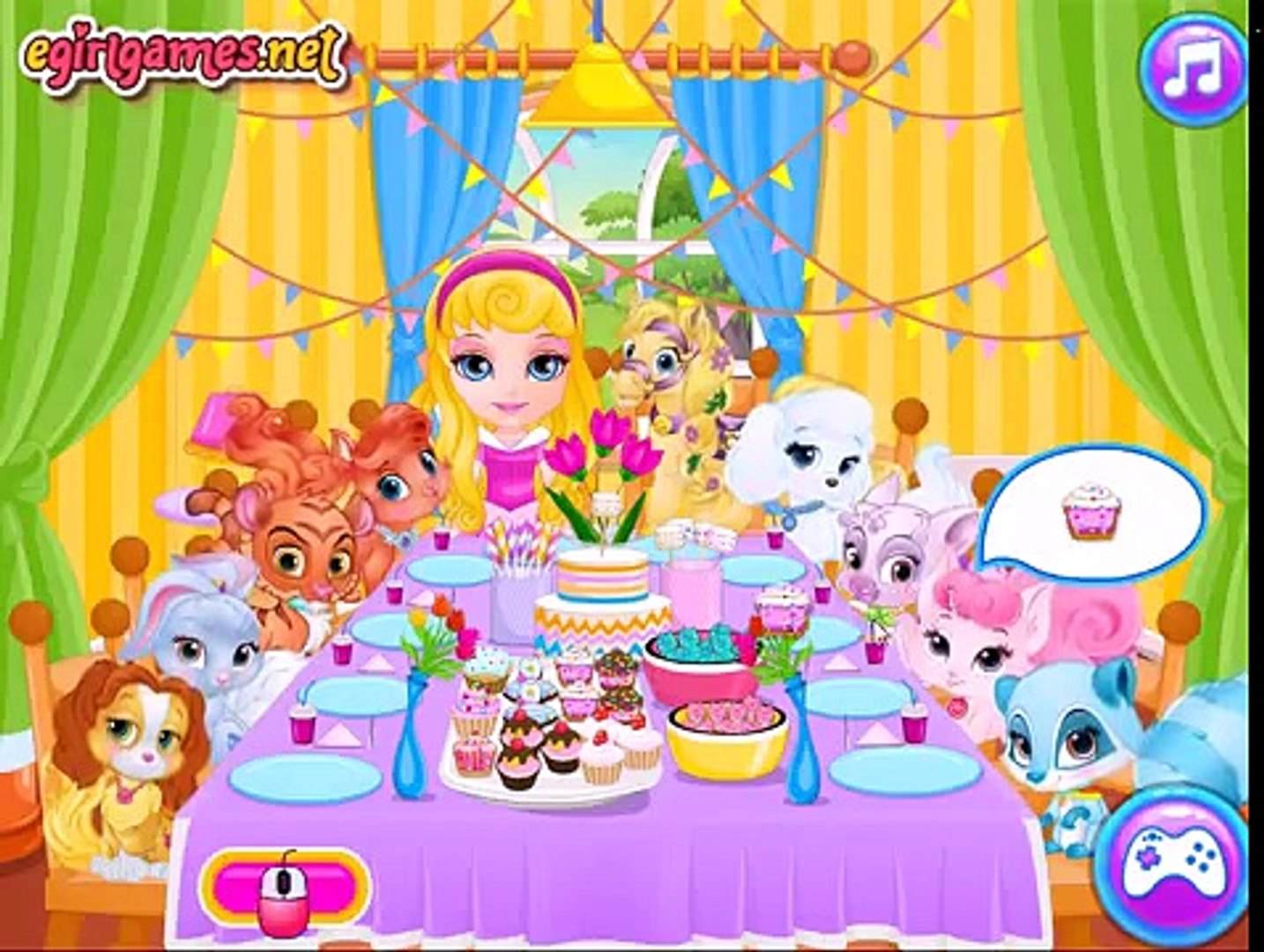Baby Barbie Palace Pets Pj Party - Best Barbie Dress Up Games For Girls And Kids