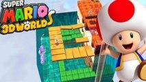 Super Mario 3D World #21 - Toad Sabe Nadar???? | WII U Gameplay 1080p Comentado em PT-BR