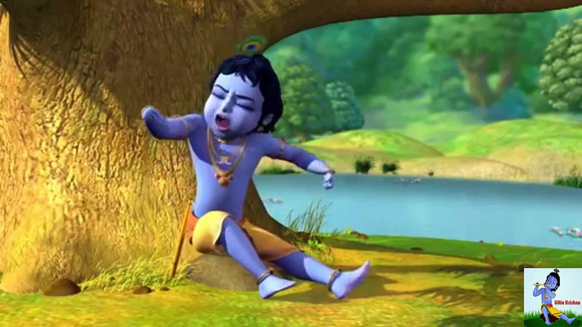 Little Krishna And Nag Kaliya Fight In Vrindaban English Cartoon Movie Full Hd 2 Video Dailymotion