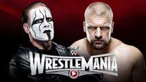 WWE WrestleMania 31 | Sting vs Triple H | NWO | DX | Shawn Michaels