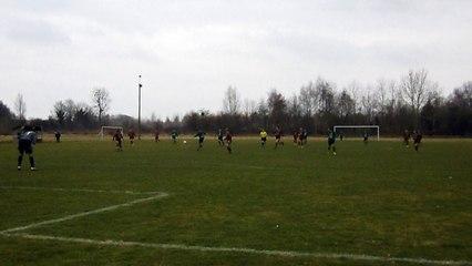 Match de Championnat Paillart A 3-2 Fouquenies, le 19.02.17 but de Ben BOURGUIGNON