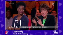 Relations extraconjugales et escaliers : Roselyne Bachelot toujours inspirée pour ses blagues coquines !